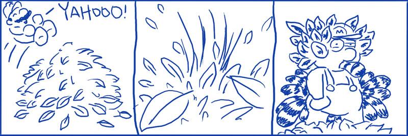 035 – Leaf Pile
