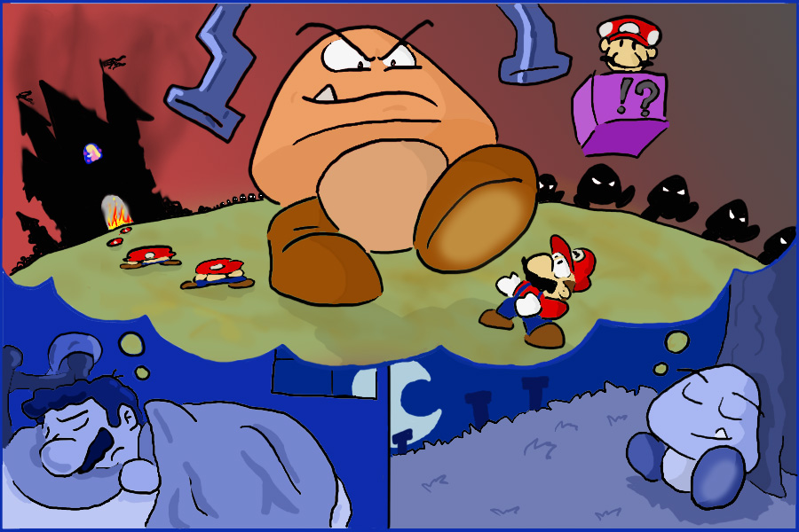 Goomba's World: O pesadelo do Mario!