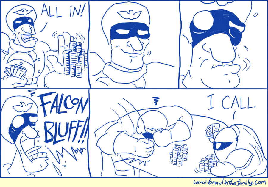 096 – Captain Falcon Plays Poker