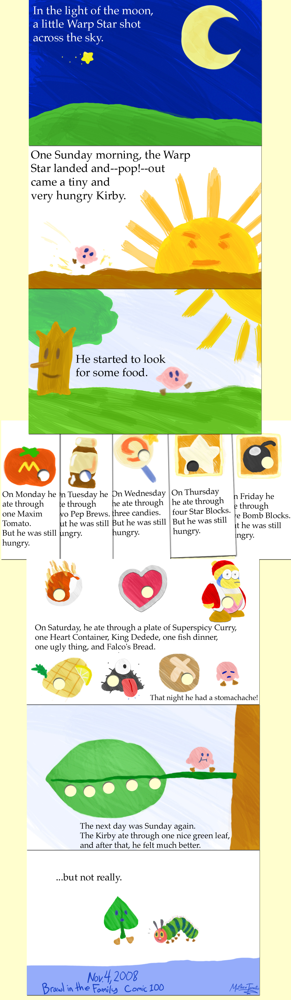 100 – The Very Hungry Kirby