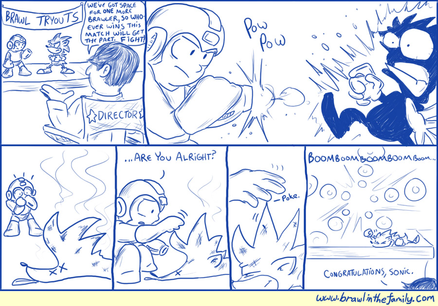 141 – Blue Bomber Vs Blue Blur