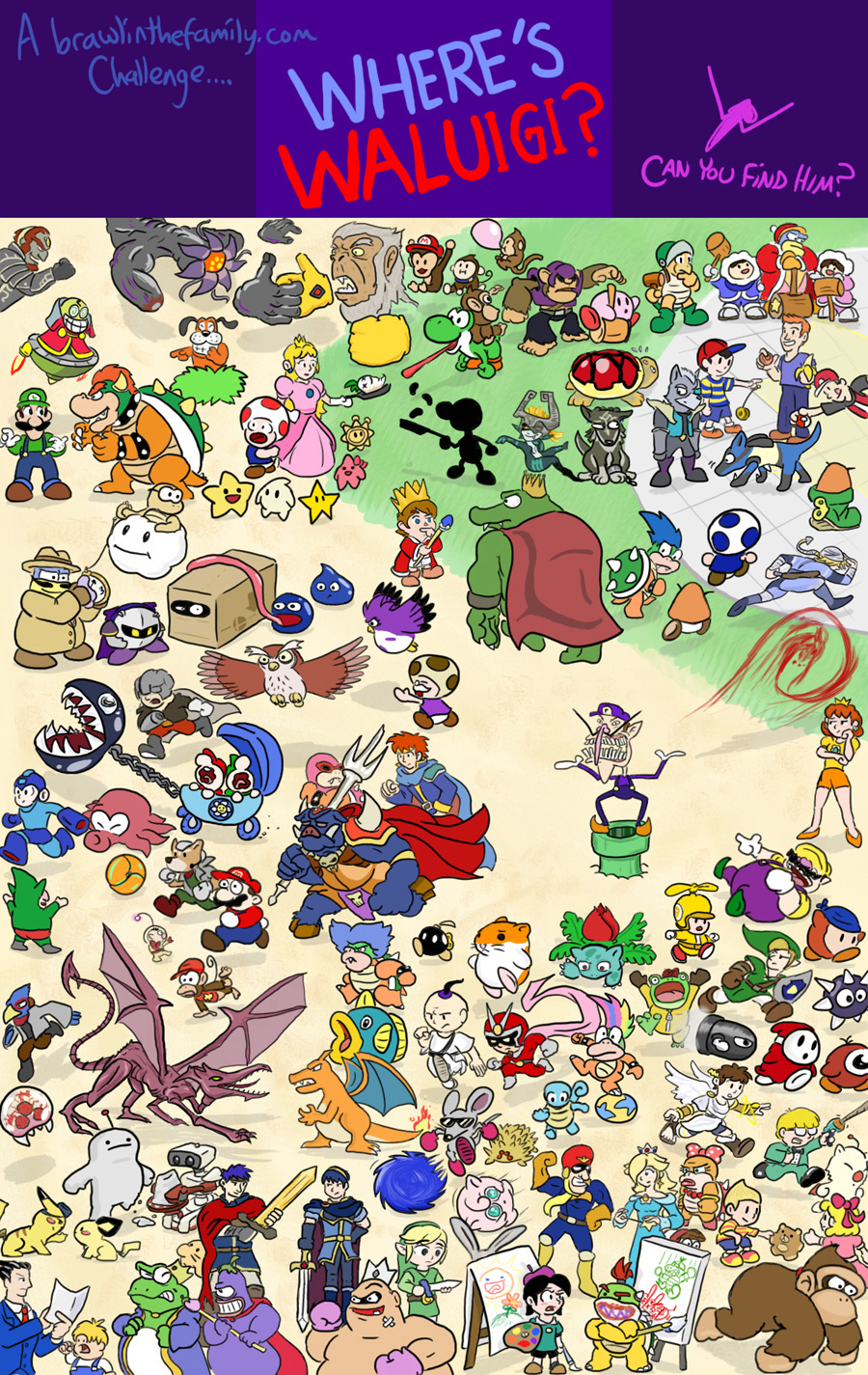 190 &#8211; Where&#8217;s Waluigi?