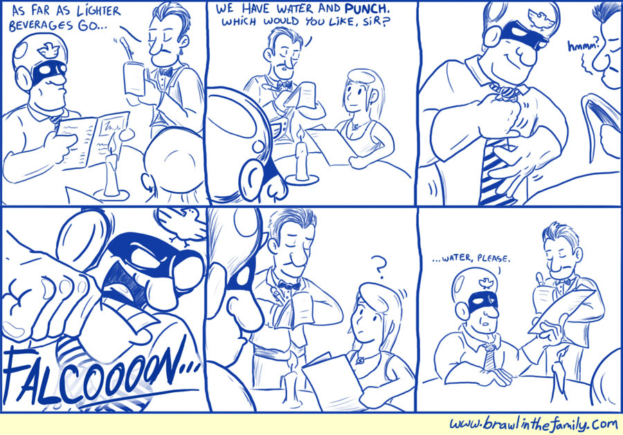 194 – Captain Falcon On a Date
