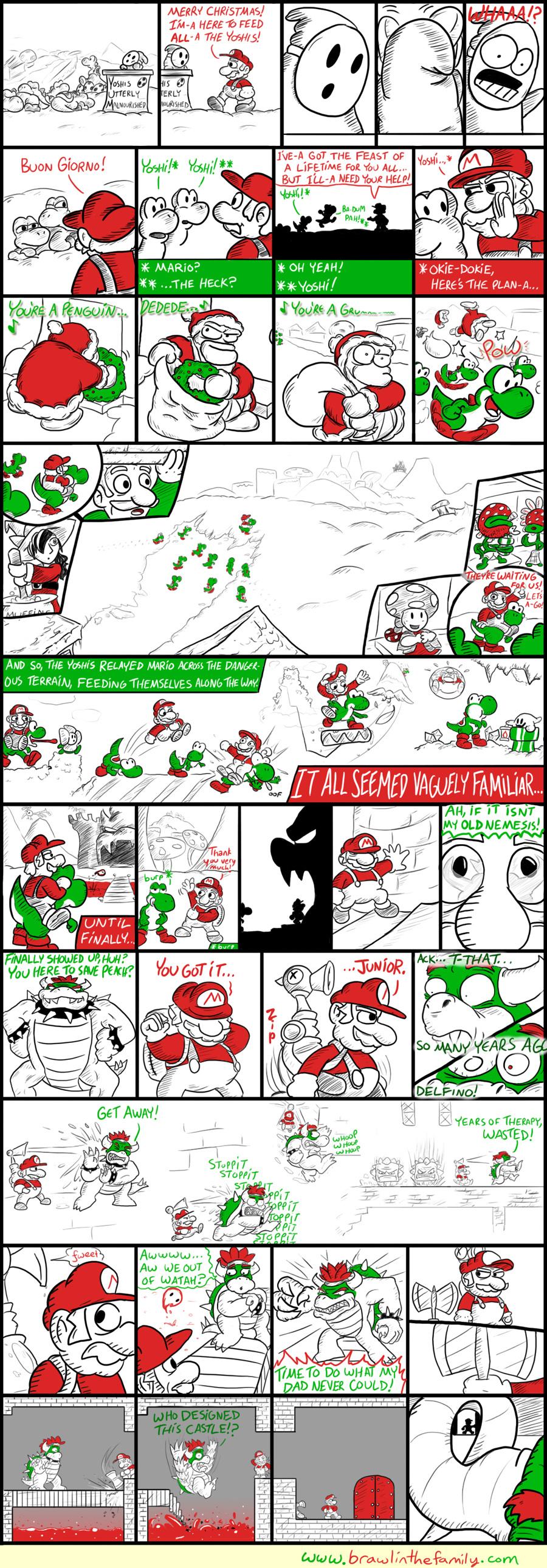207 – A Mushroom Kingdom Carol (Part 7)