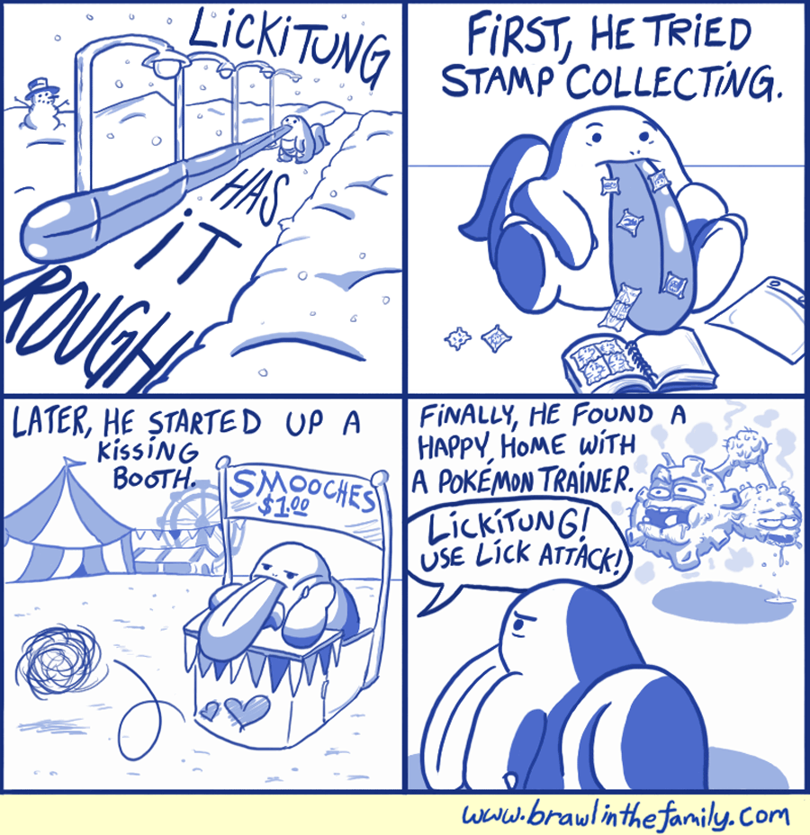 266 – Lickitung Has It Rough