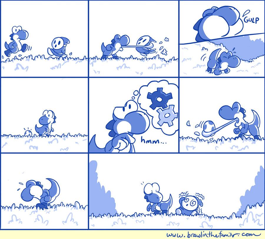 303 – Yoshi's Experiment