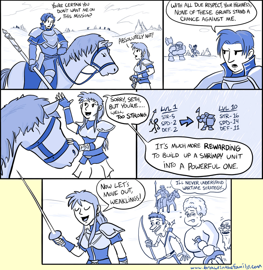 404 – And Now, a Fire Emblem Comic