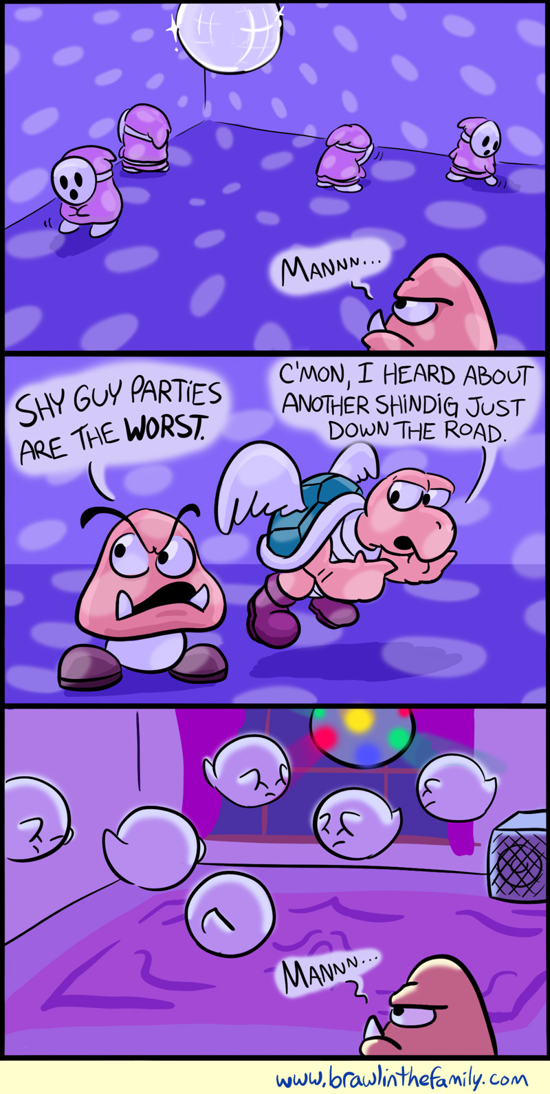 425 – Shy Guy Party!
