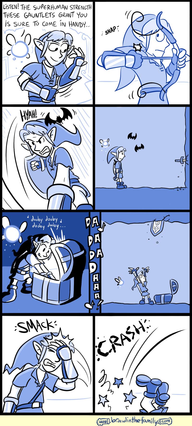 492 – Silver Gauntlets